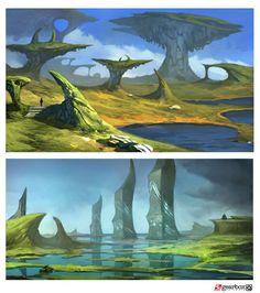 Island Environments (Early Pre Produccion)