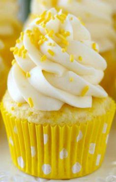 Lemon Cream Cheese Cupcakes - Cakes and Desserts - yellow Yellow Aesthetic Pastel, Pastel Yellow, Shades Of Yellow, Mellow Yellow, Lemon Yellow, Color Yellow, Yellow Theme, Yellow Cream, Blue Yellow