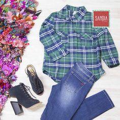 Comienza esta semana de fiestas con el mejor look!! Siempre trendy y cómoda con tus favs de SandiaStore!!