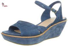 Camper - 21772-006 Damas - Sandales Compensées Femme - Bleu (39 EU) - Chaussures camper (*Partner-Link)