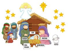 Camille's Primary Ideas: Picture a Christmas II