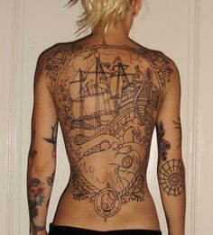 Ship tattoo