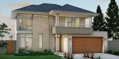 Don Rusell Home Designs: The Excecutive. Visit www.localbuilders.com.au/home_builders_perth.htm to find your ideal home design in Perth