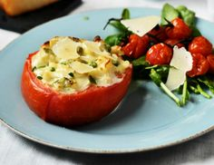 Summer Mac and Cheese in Tomato Bowls featuring our BellaVitano