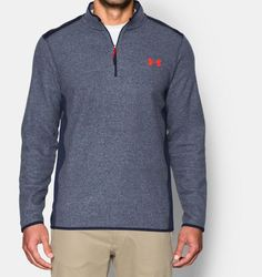 Men's UA ColdGear® Infrared Fleece ¼ Zip