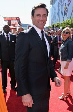 Jon Hamm at the 2013 ESPY Awards. Who cares what he's wearing, it's Jon Hamm!