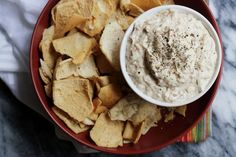 Need a go-to party dish? This vegan take on French onion dip is even better than the original, thanks to creamy cashews, thyme and slightly sweet caramelized onions.
