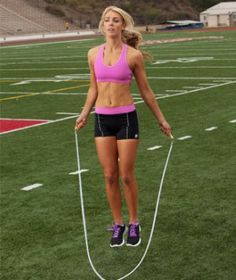 Switch up your cardio routine with this 20 minute jump rope challenge that's guaranteed to get your heart pumping. Get great results and shed the weight with just a simple jump rope!