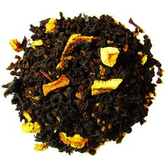 Orange Cinnamon Spice – Full Leaf Tea Company  Bold cinnamon aroma and taste with a subtle citrus hint of flavor. Very sweet from start to finish. This blend of black tea, cinnamon chips, and orange peel is a sweet delight!  Country of Origin: India