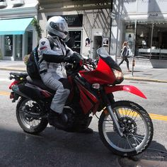 Dualsport rider: Schuberth Helmet :) REV'IT Mesh Gear :) Post-2008 Kawasaki KLR650 :(