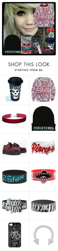 """""""We're Going On An Misadventure"""" by chemicalfallout249 on Polyvore featuring Sourpuss, Miss Selfridge and alternative"""