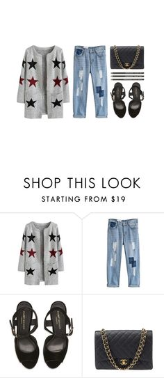 """turn up a notch"" by vogueordie ❤ liked on Polyvore featuring Kurt Geiger, Chanel, women's clothing, women's fashion, women, female, woman, misses and juniors"