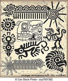 pochoirs motifs mexicains - Recherche Google