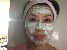 My upgrade homemade facial trtmnt. If u r a bit lazy when it comes to facial, then try my way. Can't be simpler n quicker. All u need is, moisturizer that u got tired of using (or can't wait to use up) n tiny bit of flour. If u hv time on ur hands, tiny bit of grated cucs (shown on the pic). No dripping of liquid from cucs n no harshness from flours as the moisturizer softens ( whereas my original mix did - flour, milk or yogurt n cucs, either a bit harsh or too wet). Leave about 30 mins…