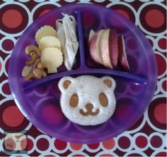 School Lunch Box, Bento Box, Sandwiches, Lunch Ideas, Breakfast, Panda, Easy, Blog, Kids