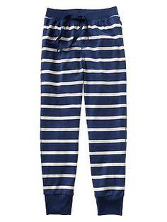 Thin stripe PJ pants