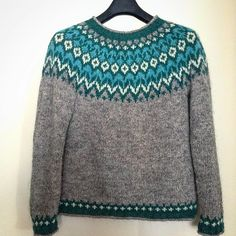 Ravelry: Project Gallery for Riddari pattern by Védís Jónsdóttir Knitting Designs, Knitting Stitches, Knitting Patterns, Icelandic Sweaters, Fair Isle Pattern, Cold Weather Fashion, Fair Isle Knitting, How To Purl Knit, Knitting For Beginners