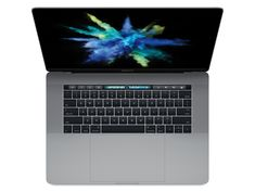 MacBook Pro 15 Touch Bar, i7 2,9 GHz, 16 GB RAM, 1 TB SSD, space grau