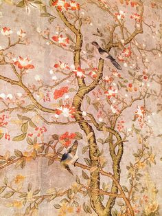 East Meets South: High Point Furniture Market Fall 2015 French Market Collection chinoiserie wallpaper