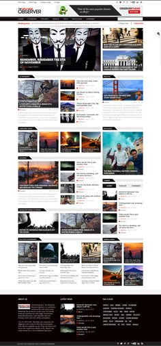 15+ Best Newspaper WordPress Themes 2014 #awards #wordpress