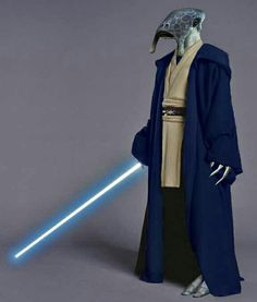 A selkath Jedi. Very rare and cool Star Wars Jedi, Star Wars 1313, Star Wars Rpg, Star Wars Characters Pictures, Star Wars Pictures, Sith, Traje Jedi, Star Wars Species, Jedi Cosplay