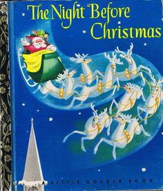 The Night Before Christmas -  Little Golden Book