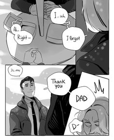 this is cute I don't ship them I see them as father and son