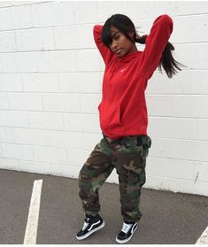 @benitathediva  Vans - Hightop - Womens Sneakers - Camo Print - Instagram Baddie - Cute Comfy Clothes - College Party Oufit