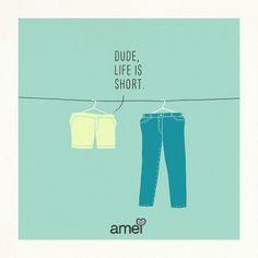 A vida é curta aproveite ela de calças ou de shorts ❤ a @loja_amei esta com novidades linnndas em JEANS! Bom dia #lojaamei #bomdia #short #jeans #calcajeans #vida #vida