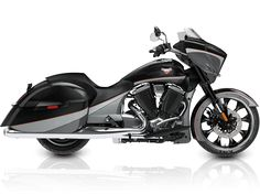 2016 Victory Magnum Motorcycle - Black/Gray...