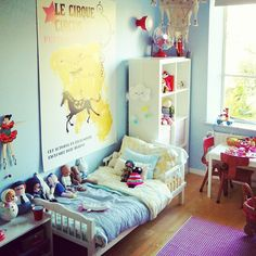Cute little kid room