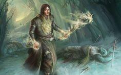 fantasy mage wizard sorcerer art artwork magic magician