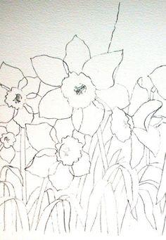 Ann's Watercolour Studio: Negative