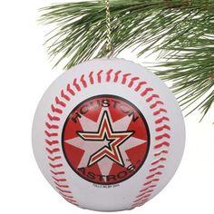 houston astros mini replica baseball ornament
