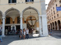 LIVORNO, Italy - the arches are so lovely to wander through Arches, Wander, Street View, Italy, Places, Blog, Travel, Bows, Lugares