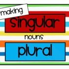 This file was created to help our kiddos learn the specific rules of pluralizing nouns.  It contains posters, 24 word cards to sort under headings ...