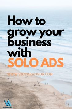 In a nutshell, a solo ad is an email that you ask a publisher or list owner to send containing your offer to their customers or readers.That's about as simple as it gets!
