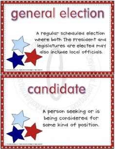 Classroom election kit presidential elections crayonbox learning