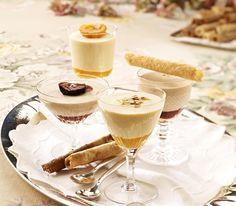 Nach einem üppigen Essen darf das Dessert nicht allzu schwer sein. Diese wunderbar fruchtige Creme ist da genau das Richtige.