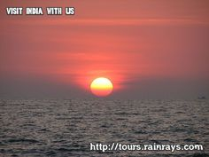 Tourist Attraction India: Vagator Beach Goa | sun set