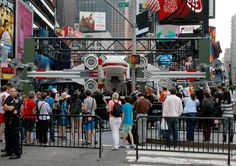 Enormous 5,000,000 Piece LEGO X-Wing Lands on Times Square