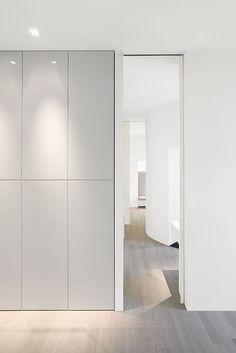 Apartment Berlin via (Architecture: Leyk & Wollenderg):