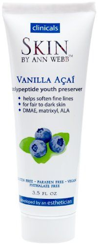 Face Skin Care Skin By Ann Webb Youth Preserver Vanilla Acai 35 Fluid Ounce >>> Details can be found by clicking on the image.