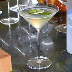 Cucumber Jalapeno Mint Martini at duckinapot.com