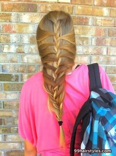 awesome brair stided hairstyle idea - Hairstyle Ideas