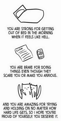 You scream every morning when getting out of bed due to pain.