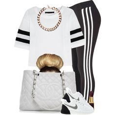 """#OFTD 05.15.14 Nike Roshe { Outfit I got Planned for Friday night} ~Brianna"" by vintagetrillbrat on Polyvore"