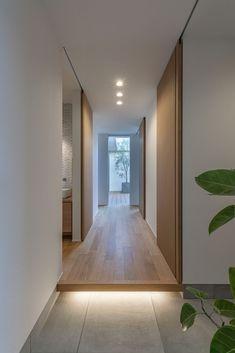 CASE661 環(めぐる)いえ Japanese Home Design, Japanese Home Decor, Japanese Interior, Japanese House, Minimalist Architecture, Architecture Design, Home Interior Design, Interior Decorating, Bedroom Minimalist