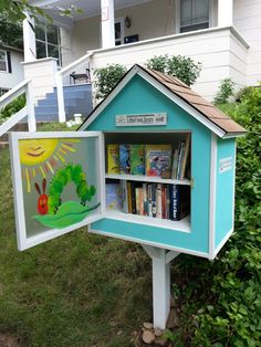 Nancy Seale. Indiana, PA. Our little family loves the idea of the Little Free Library so we decided to design and build one for in front of our home. We are excited to be able to share with the community and hope many benefit from the books. Our girls love to go out to the library and see the books.