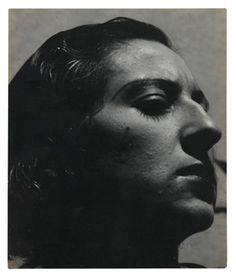 "... "" (Portrait of Lola Alvarez Bravo) By Manuel Álvarez Bravo ,1932"